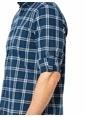 LC Waikiki Kareli Uzun Kollu Gömlek Lacivert